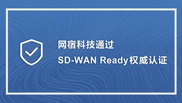 """权威认证!网宿科技通过""""SD-WAN Ready""""测试"""